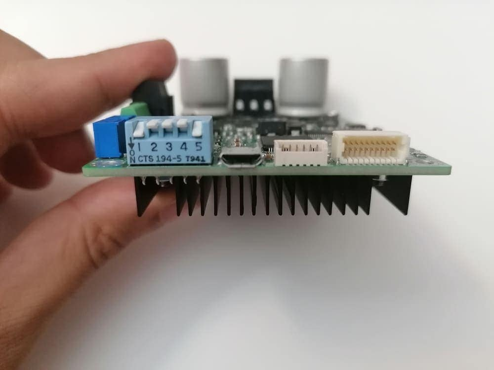 How to control the speed of BLDC motor using Arduino and SOLO in Closed-loop sensorless mode |FOC|BLDC|Sensorless 5